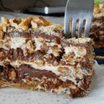 """Едно парче никога не е достатъчно от тази """"Царска торта"""", приготвена без грам брашно!"""