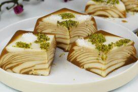 Великолепен двуцветен десерт БЕЗ ПЕЧЕНЕ