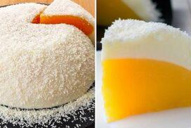 """""""Щраусово яйце""""- красив млечен десерт, чието приготвяне отнема едва 15 минути!"""