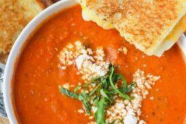 Ароматна крем супа от печени домати, която бързо ще ви стане любима