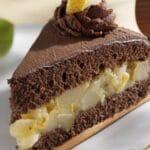 Отдавна търсех предложение за десерт с круши. Попаднах на тази немска рецепта и воала! Получи се десерт-уникат!
