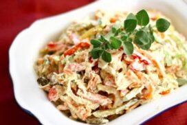 Обожавам тази апетитна салата, а и се приготвя супер лесно!
