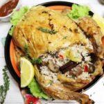 Ресторантските ястия бледнеят пред това крехко и сочно домашно печено пиле с вкусна богата есенна плънка!