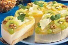 Всички се влюбиха в тази прелестна ананасова торта с ефирен крем!