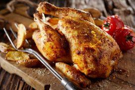 Пълнено пиле по Одрински- крехко и вкусно!