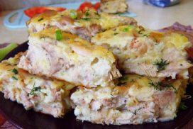 Всеки, който опита тази рецепта остава много доволен! Сочна, крехка и апетитна запеканка с пиле!