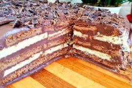 """Торта """"Трюфел"""" отнема точно 15 минути БЕЗ ПЕЧЕНЕ"""