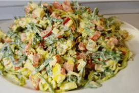 Всеки, които опита тази салата, остава доволен!
