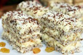 Едно парче никога не е достатъчно от този прелестен десерт! Още с първата хапка ще ви стане любим!