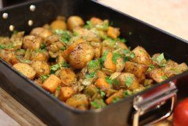 Супер лесна рецепта за вкусно ястие на фурна, което може да бъде поднесено и като гарнитура, и като самостоятелно блюдо!