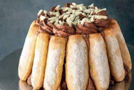 """Шоколадова """"Шарлотка""""-един деликатен десерт, който е наслада за небцето!"""