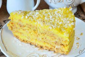 БЕЗ ПЕЧЕНЕ И БЕЗ БИСКВИТИ- лесна рецепта, с помощта на която се приготвя много вкусна  торта!